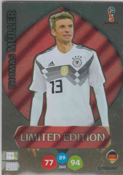 WC18 Limited Edition Thomas Müller - Limited Edition