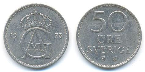 Jamila's Coins and Notes Collection: SWEDEN COINS (3)