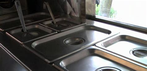 Maximize The Efficiency Of Your Food Truck Steam Table