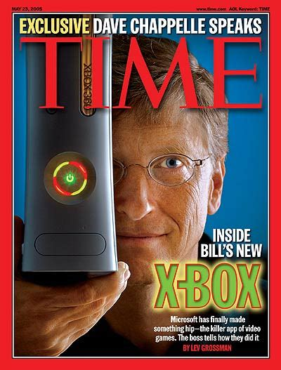 TIME Magazine Cover: Inside Bill's New X-Box - May 23
