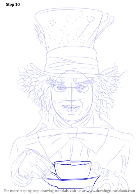 Learn How to Draw Mad Hatter (DC Comics) Step by Step