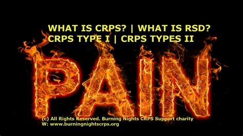 What is CRPS | What is RSD | CRPS Type 1 | CRPS Type 2
