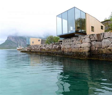 This boutique hotel on Norway's Manshausen Island is made