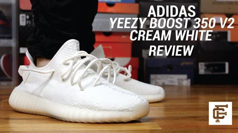 ADIDAS YEEZY BOOST 350 V2 CREAM REVIEW - YouTube