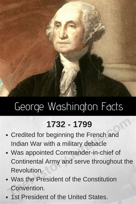 51 George Washington Facts, Biography, Presidency - The