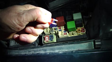 How to check fuses in Toyota Corolla