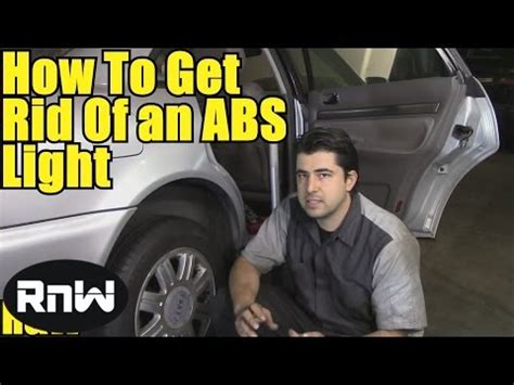 How to Get Rid of ABS Trac Off Lights - How to Test an ABS