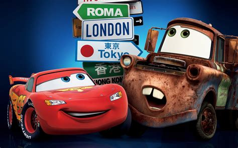 Cars 2 London Tokyo Wallpapers | HD Wallpapers | ID #10010
