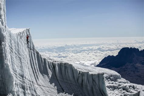 Ice Climbing the Glaciers at the Top of Kilimanjaro