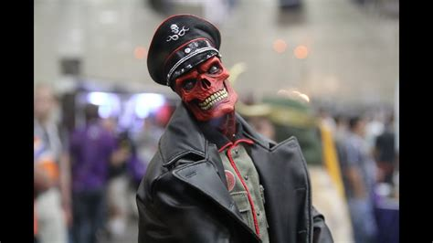 Red Skull Premium Format at San Diego Comic Con 2013 - YouTube