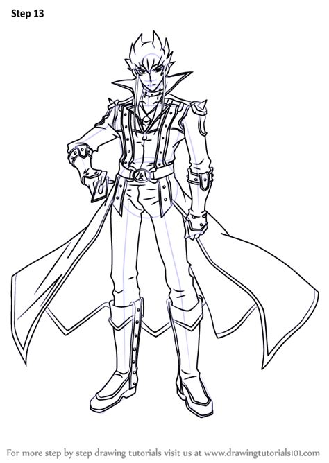 Learn How to Draw Jack Atlas from Yu-Gi-Oh! 5D's (Yu-Gi-Oh