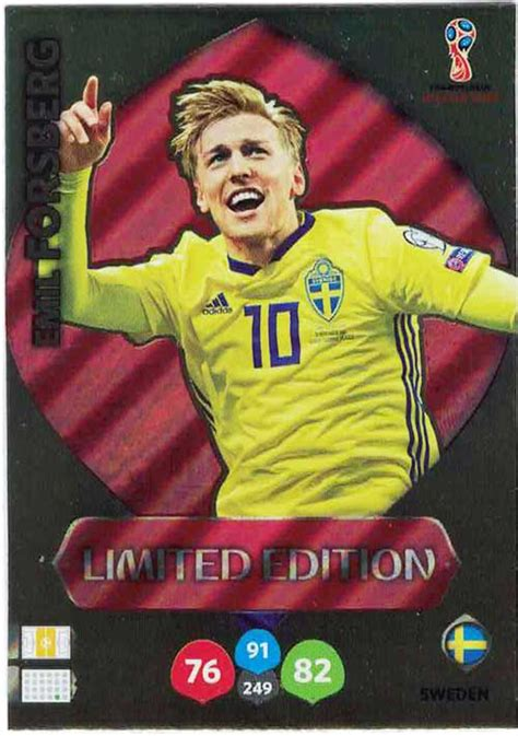 WC18 XXL Limited Edition Emil Forsberg - Limited Edition