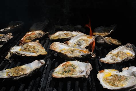 Grilled Oysters on the Half Shell   Emerils