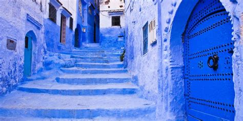 Blue City of Chefchaouen Morocco — Tourism in Morocco