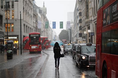 UK weather forecast: London 'set for cold weather and