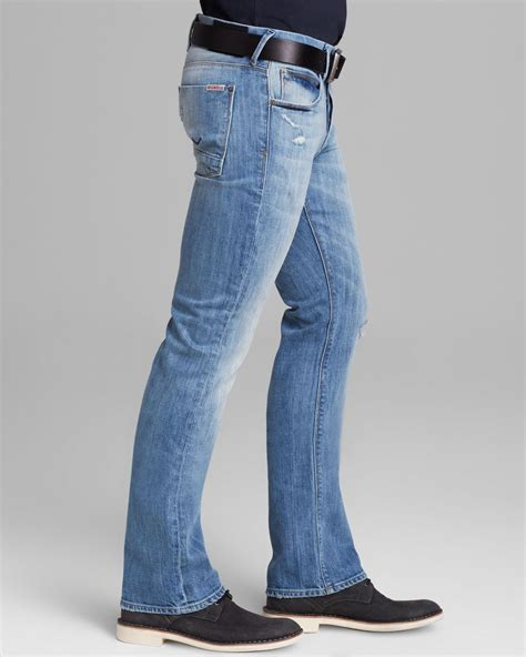Lyst - Hudson Jeans Jeans Clifton Bootcut Fit in Burning