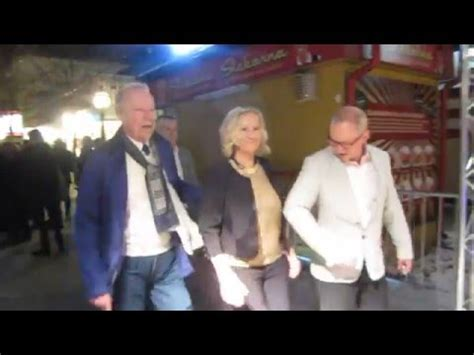 """Agnetha Fältskog from Abba at the premier of """"Mamma Mia"""