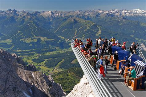 Dachstein weather - a fascinating glacier world at an