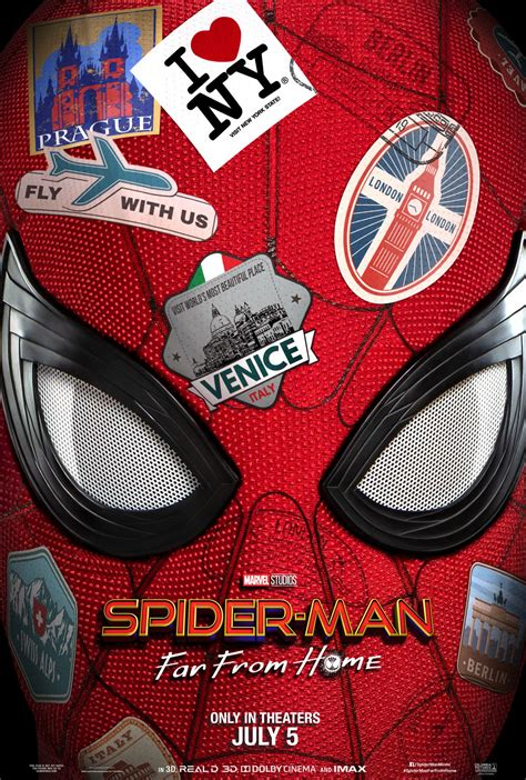 The Trailer and Poster For Spider-Man: Far From Home Are