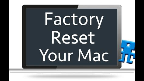 Reset Your Mac To Factory Settings Without Disc - OS X