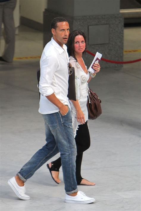 Pictures of Rio Ferdinand Shirtless With Wife in South of