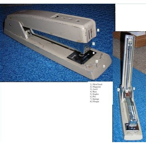 How Does a Stapler Work? | Synonym