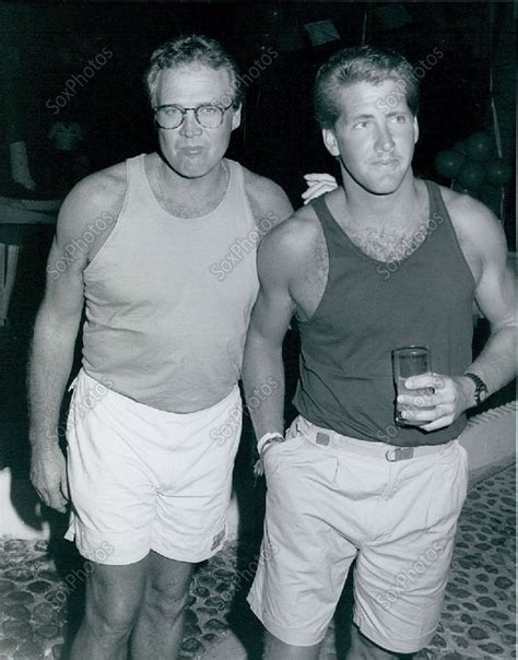 Lee Majors with son, Lee Jr