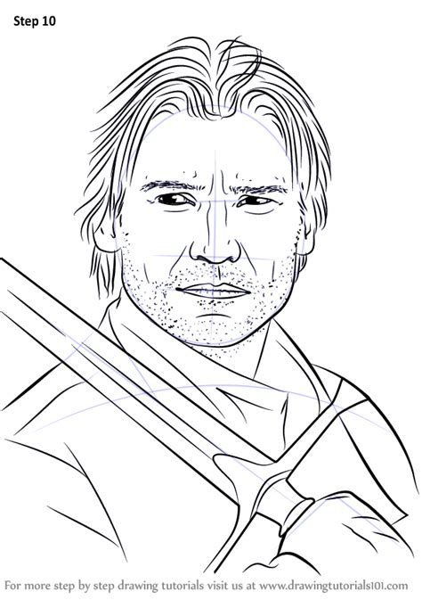 Learn How to Draw Jaime Lannister (Characters) Step by