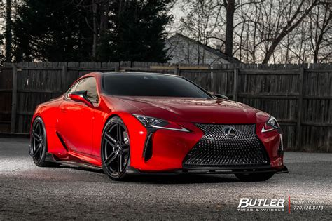 Fully Customized Lexus LC500 available directly from Lexus