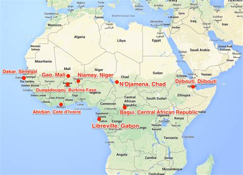 France's Military Is All Over Africa | Business Insider