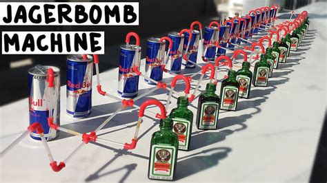The Jagerbomb Machine - Tipsy Bartender - YouTube
