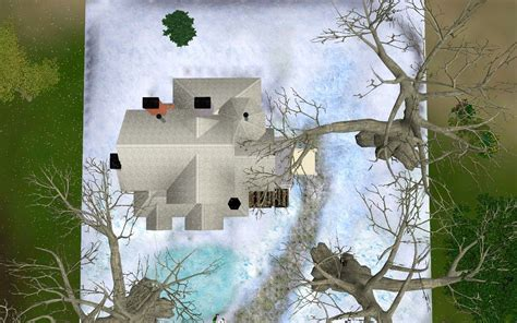 Mod The Sims - First snow- winter house