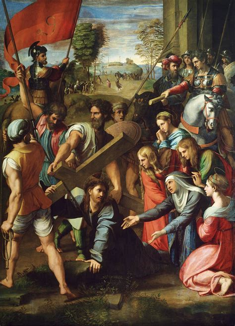 Trial of Jesus - Christ Falls on the Way to Calvary
