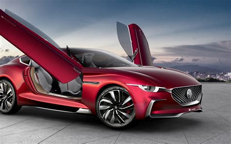 Wallpaper MG E-Motion, Concept cars, Electric cars