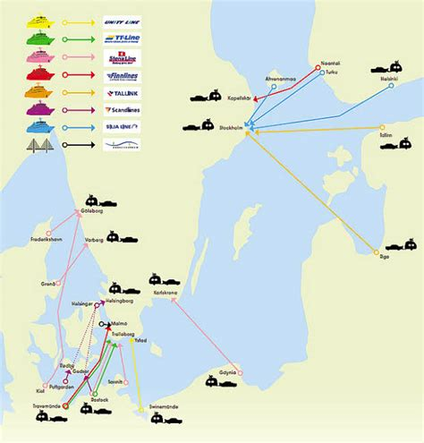 By Car and Ferry from Germany to Sweden (or Denmark) - Hej