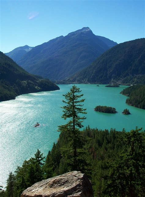 Cycling on the North Cascades Highway - North Cascades