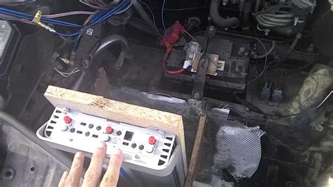 MR2 SW20 / Amp in Front Trunk - YouTube