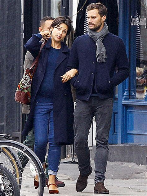 Jamie Dornan and Wife Amelia Warner Out in London Oct