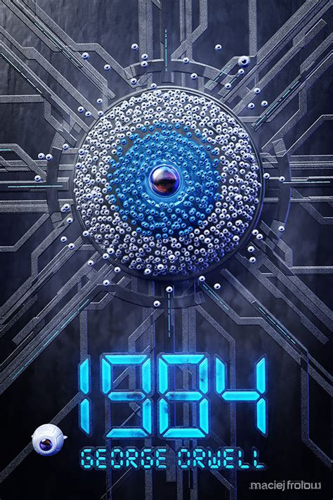 1984 book cover on Behance