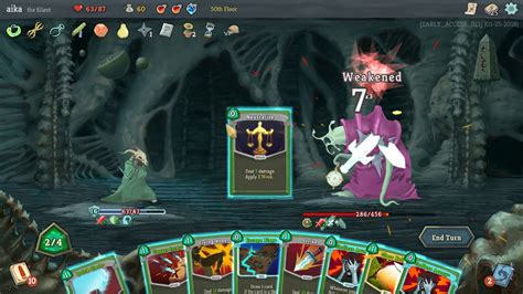 Slay the Spire (Momentum Silent) - Beating Timelord - YouTube