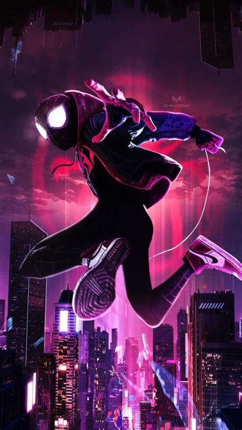 Spider-Man Into the Spider-Verse Artwork Wallpapers   HD