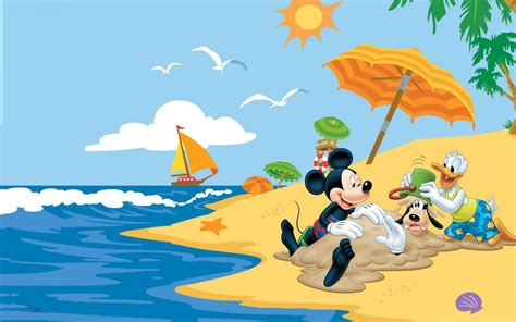 Summer Adventures With Mickey Mouse Donald Duck Goofy